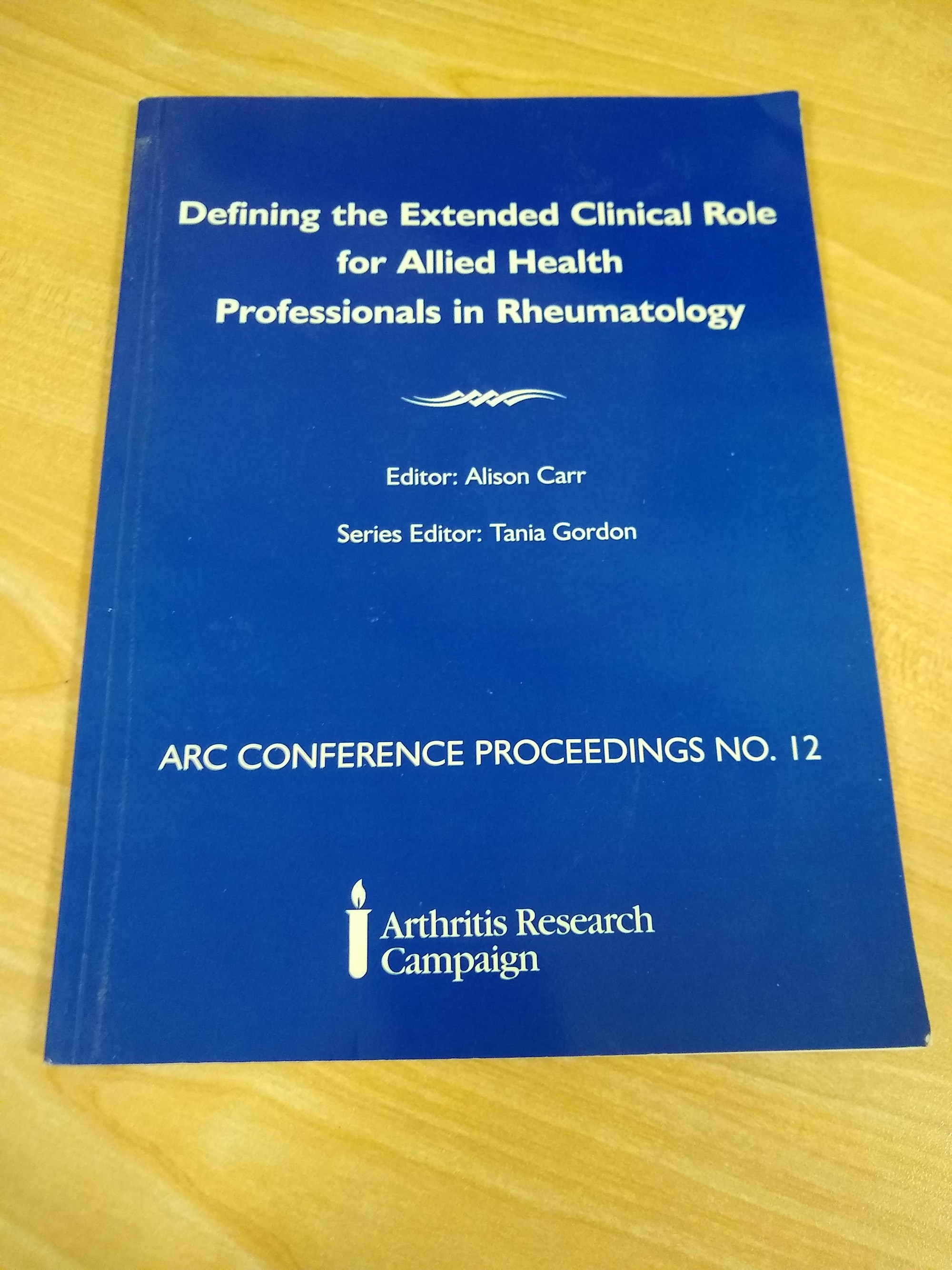 Advancing Practice in Rheumatology Physiotherapy